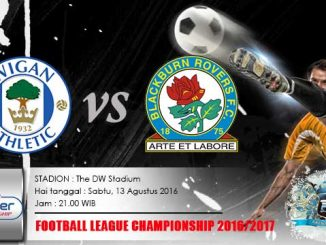 Wigan VS Blackburn