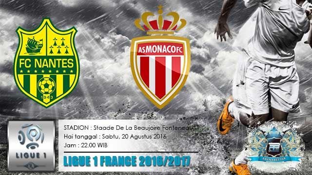 nantes vs as monaco