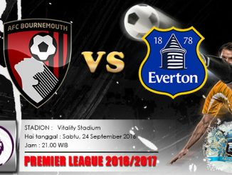 prediksi-skor-bournemouth-vs-everton-24-september-2016