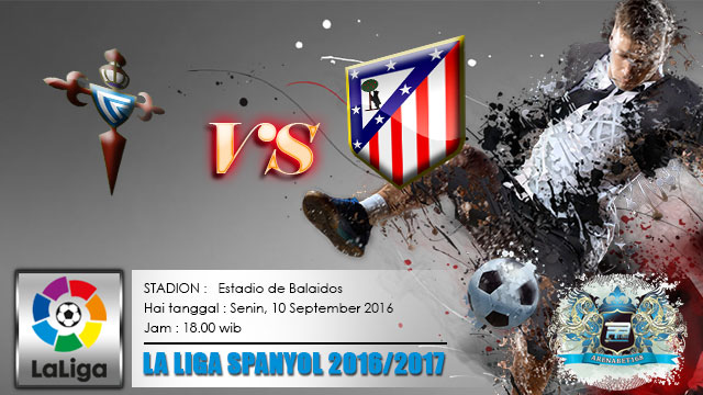 Prediksi-Skor-Celta-Vigo-VS-Atletico-Madrid-10-September-2016