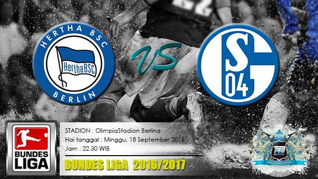 prediksi-skor-hertha-berlin-vs-schalke-18-september-2016