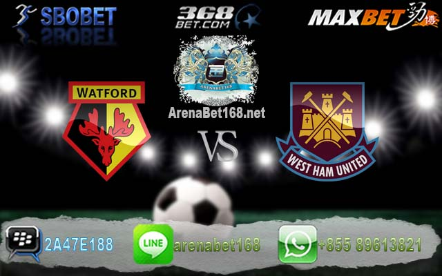 Watford VS West Ham 26 Februari 2017
