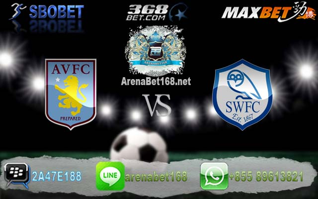 Aston Villa VS Sheffield Wed 11 Maret 2017