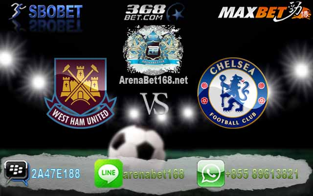 West Ham VS Chelsea 07 Maret 2017