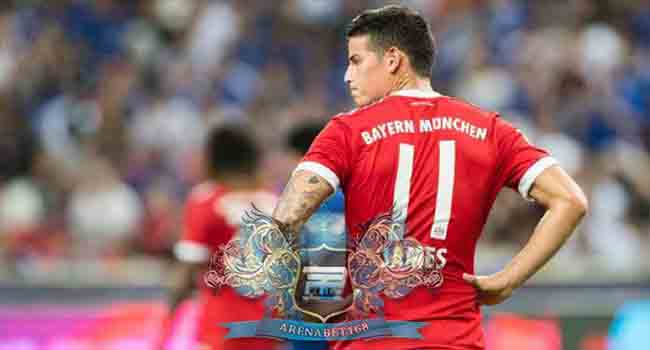 James kembali ke Real Madrid